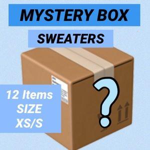 💙 MYSTERY BOX 12 SWEATERS SIZE XS-S 💙